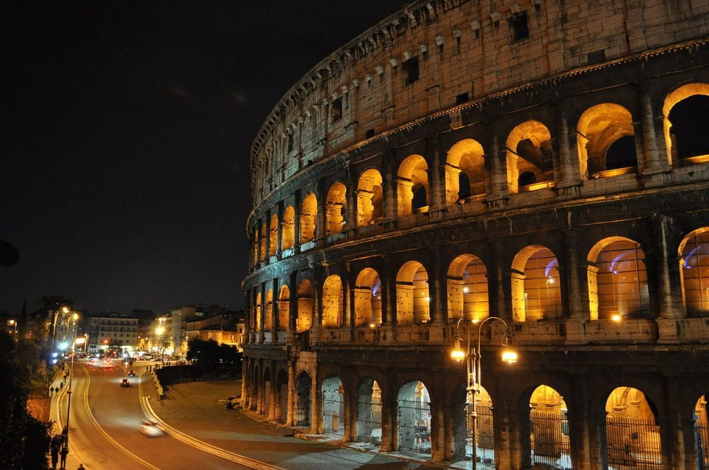 NIGHT COLOSSEUM Rome