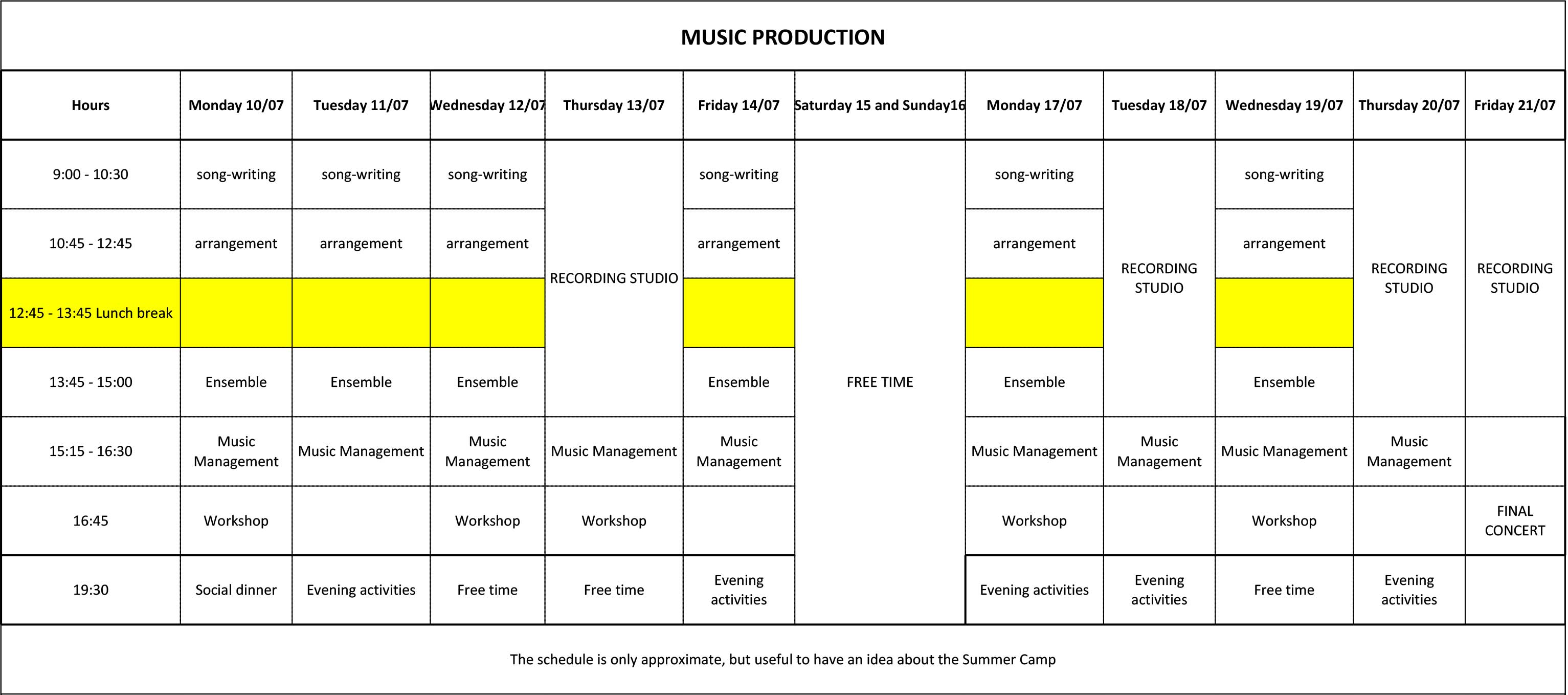 Music Productions