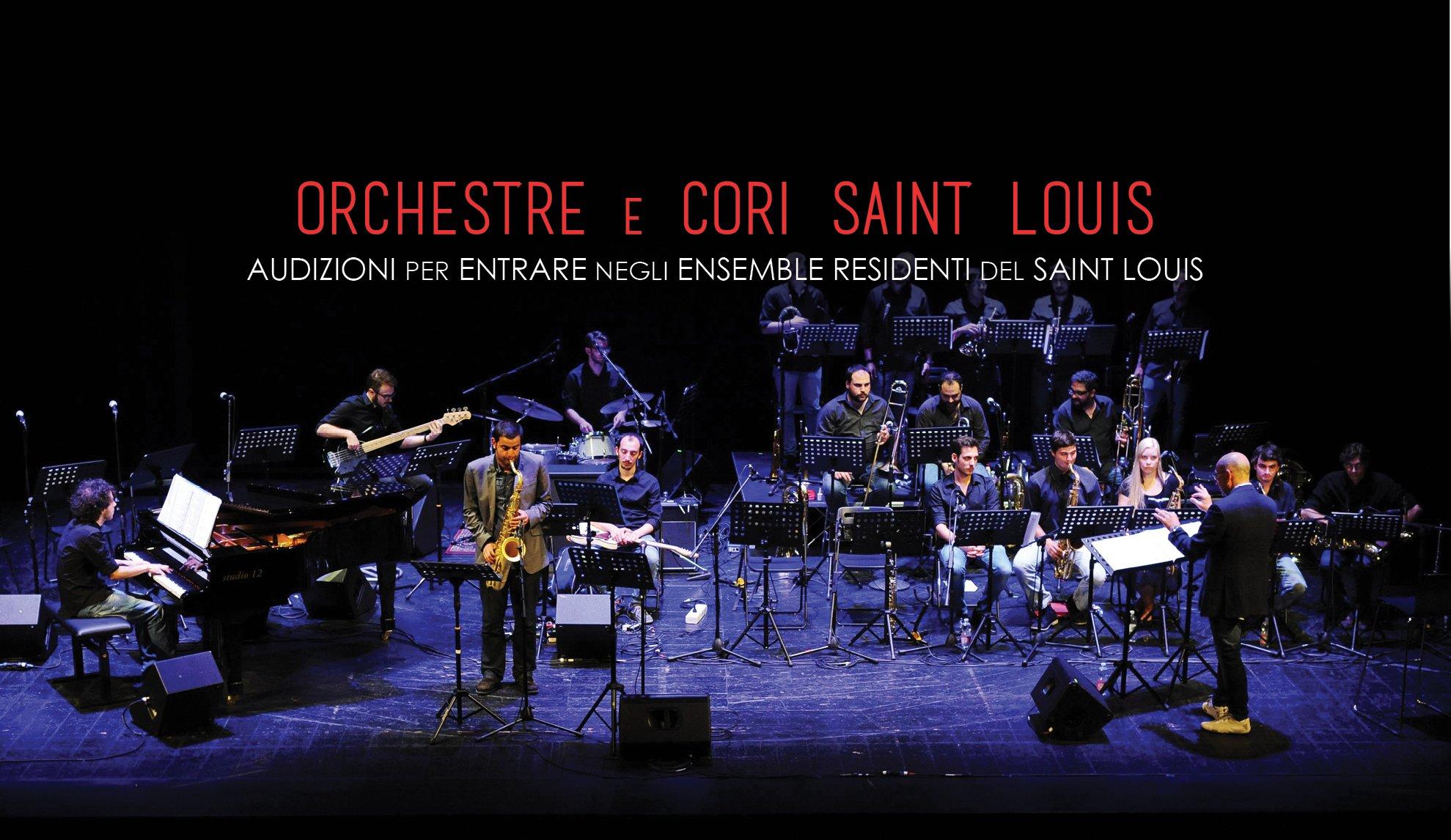Tutte Le Audizioni Per Le Orchestre E I Cori Saint Louis