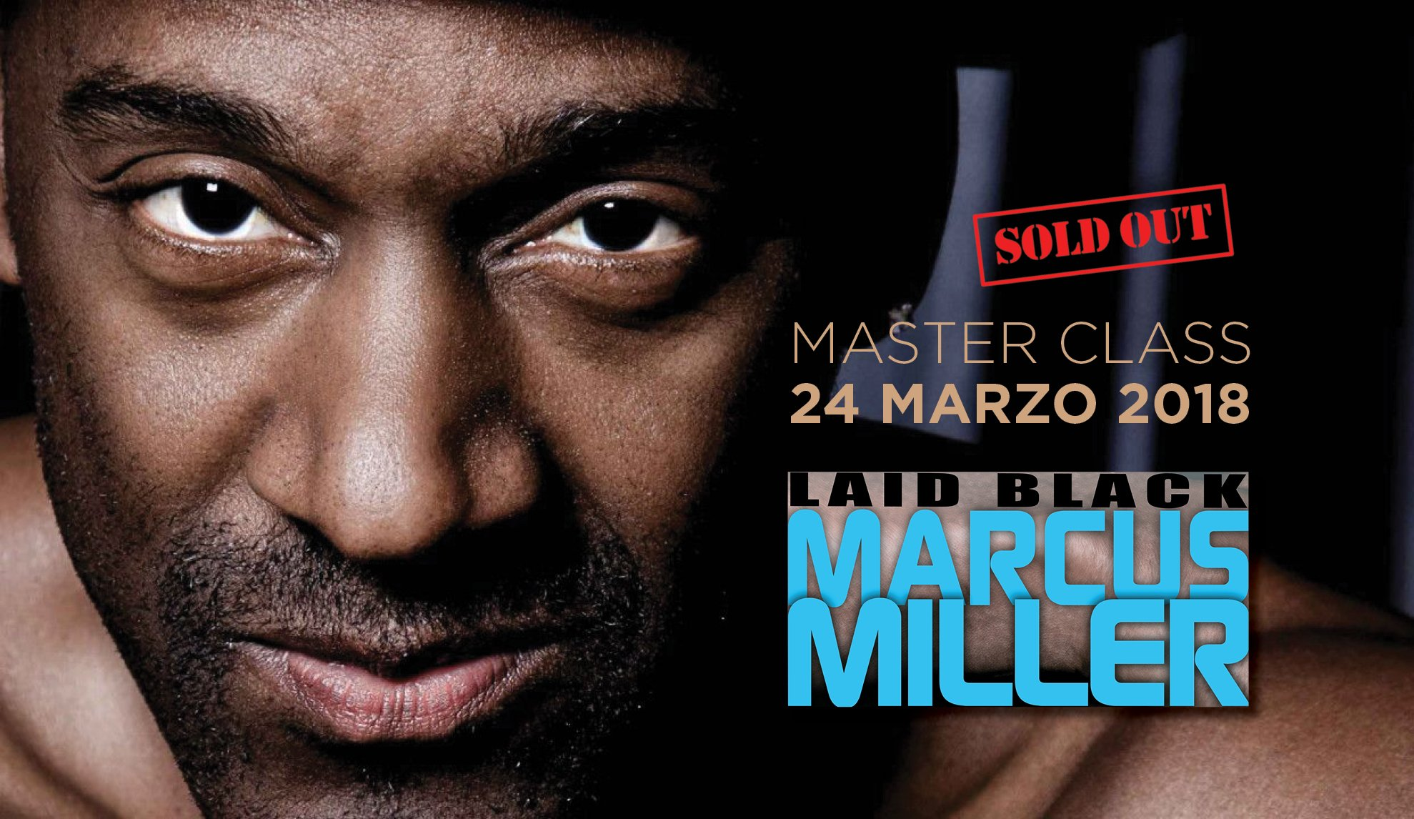 Marcus Miller Master class al saint louis colle of music