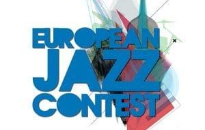 european jazz contest logo blue