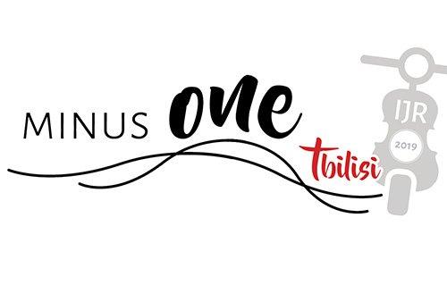 logo minus one tbilisi