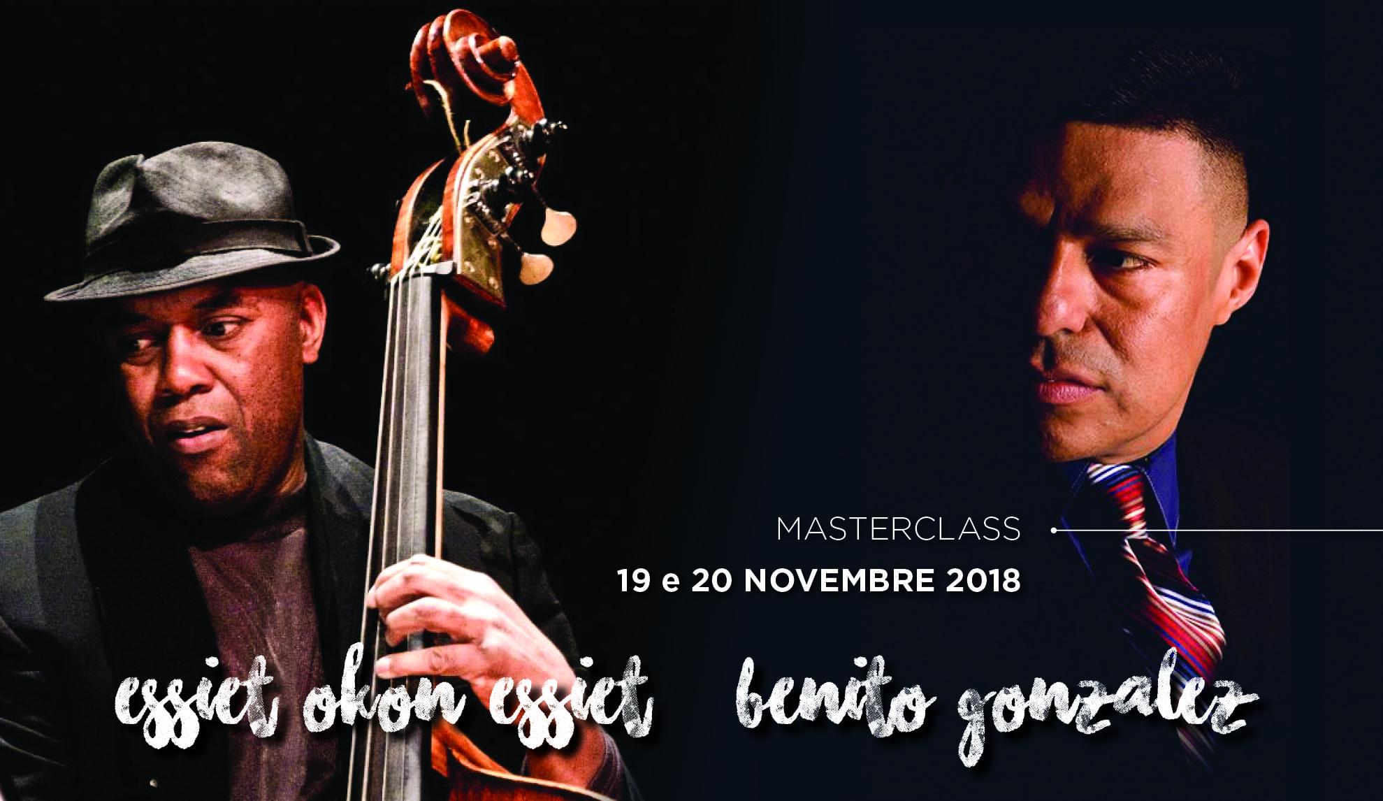 Benito Gonzalez & Essiet Okon Essiet master class