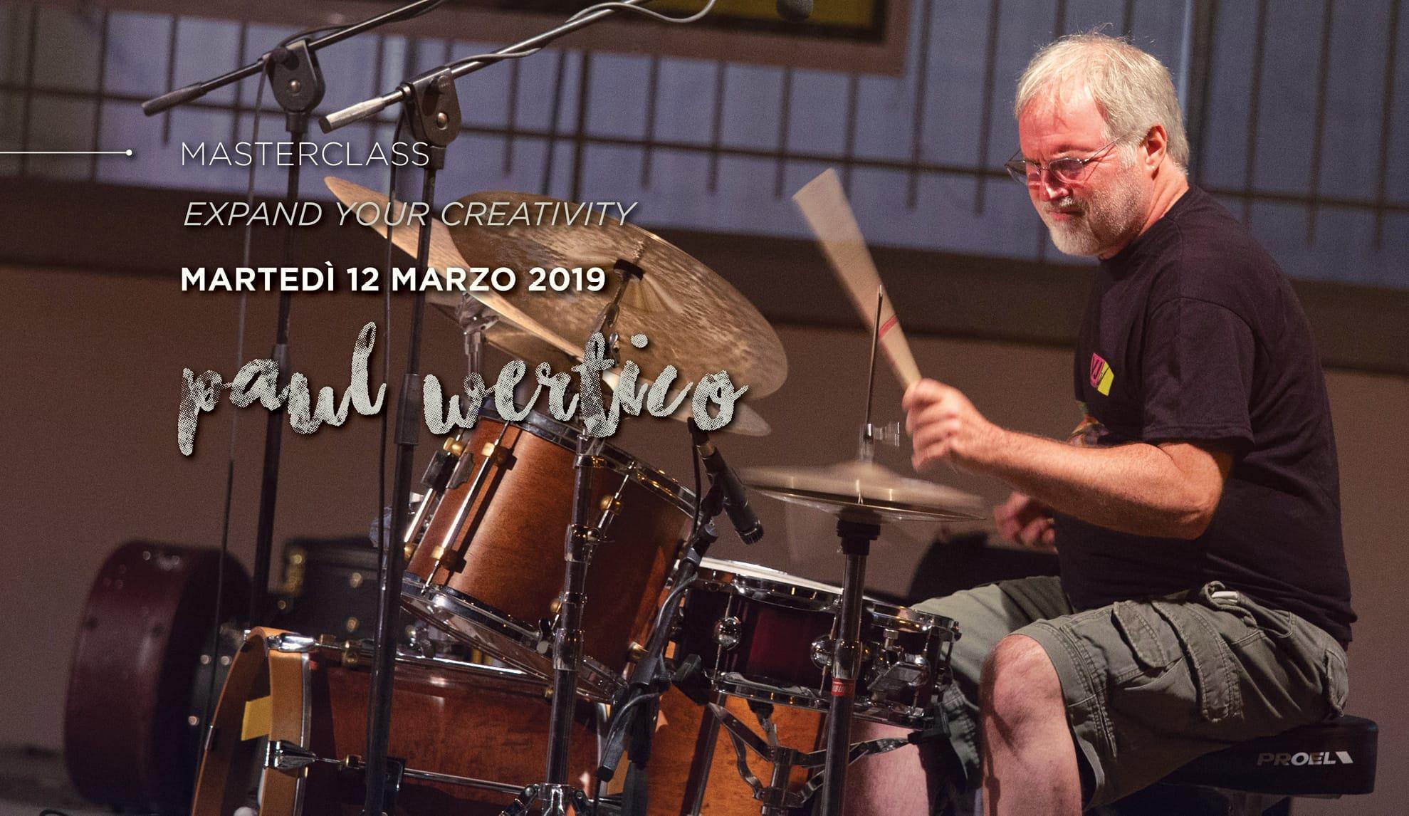 master class di Paul Wertico