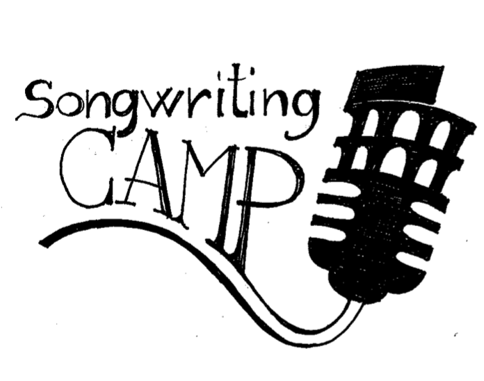 Logo Song writing camp draft