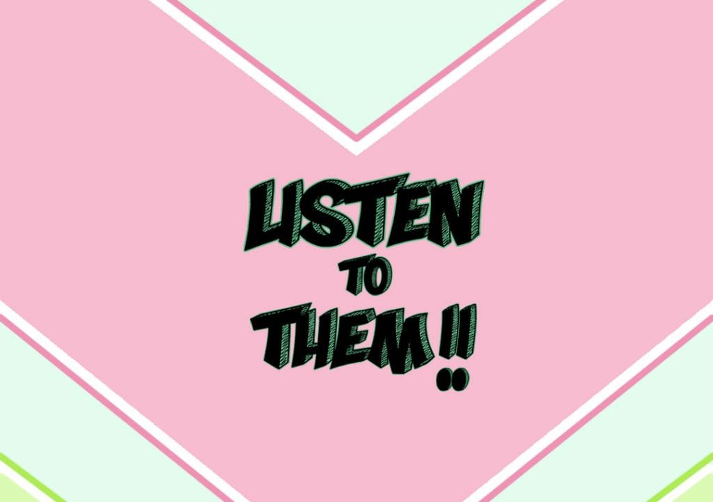 Listen to Them! La nuova rubrica social