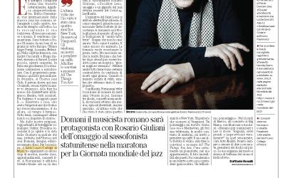 Corriere della Sera – Pieranunzi: il mio piano per Konitz