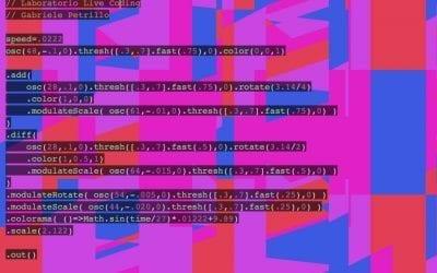 Live Coding – Gabriele Petrillo